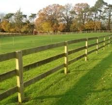 Bendigo Timber Post Rail Fencing
