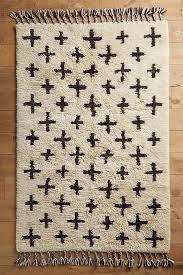 Moroccan Cross Rug In 2020 Wool Area Rugs Hand Weaving Room Rugs