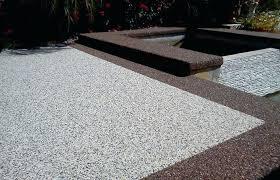 cement patio ideas fancy concrete front