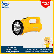Đèn Pin LED Điện Quang ĐQ PFL07 R YBL (Pin Sạc, Vàng - Đen)