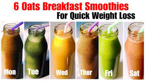 6 healthy oats smoothie recipe how to