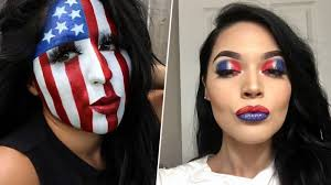 fourth of july makeup looks easy ideas