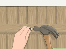 3 Ways To Fit Concrete Gravel Boards Wikihow
