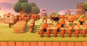 Added A Lil Pumpkin Patch To My Town Ac Newhorizons