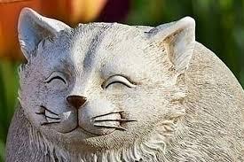 31 cat garden statues that will