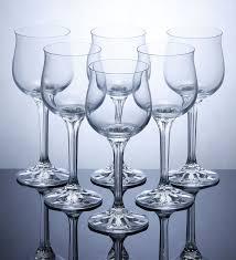 190 ml diana red wine glasses set