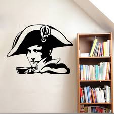 French Napoleon Wall Decal Sticker Musketeer Army Warrior Hat Soldier Vinyl 3d Poster Removable Wall Stickers New Design Lc040 Buy At The Price Of 7 97 In Aliexpress Com Imall Com