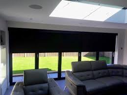 electric blinds for bifold sliding