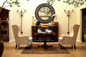 linen wingback chairs eclectic