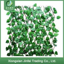 China Greenery Artificial Leaf Privacy Roll Fence Screen For Wall Covering Decoration In Hot Sale China Artificial Plant And Fence Price
