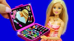 barbie doll makeup set diy for kids