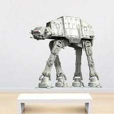 Imperial Walker Star Wars Wall Decal Mural From Prime Decals A99 Ebay