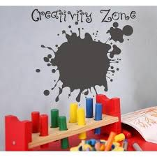 Creativity Zone Chalkboard Wall Decal Jack And Jill Boutique