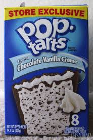 frosted chocolate vanilla crème pop tarts