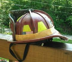 leather fire helmet phenix tl2