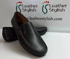 mens loafers black leather loafer