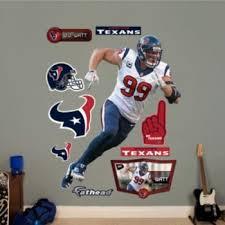 Houston Texans J J Watt Defensive End Wall Decals By Fathead Houston Texans Texans Texans Football