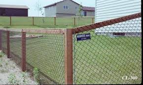 Affordable Easy Chain Link Fence Makeover Option Mom In Music City Black Chain Link Fence Chain Link Fence Chain Fence