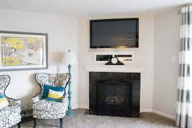beckie s fireplace makeover the