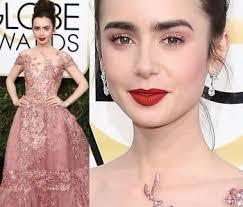 makeup ideas for pink dress