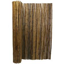 Backyard X Scapes 3 Ft H X 8 Ft L X 1 In D Caramel Brown Bamboo Fence Panel 22 Cb3 The Home Depot