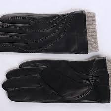 custom leather gloves men winter