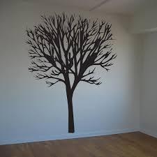 Giant 8 Foot Tall Barren Tree Decal Vinyl Wall Decal