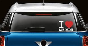 I Love Custom Text Car Decals Dezign With A Z