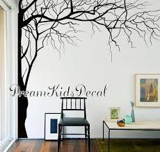 Vinyl Wall Decals Tree Wall Decal For Nursery Corner Top Tree Etsy
