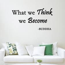 Vwaq What We Think We Become Buddha Wall Decal Version 1