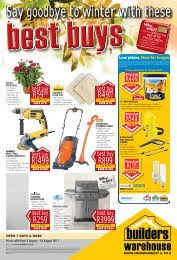 Lower Prices Builders Warehouse
