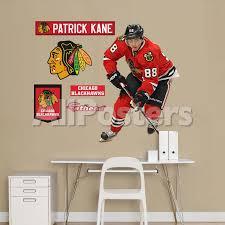 Chicago Blackhawks Patrick Kane Fathead Jr Wall Decal Sticker Wall Decal Allposters Com