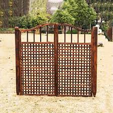 Amazon Com Qbzs Yj Freestanding Support Feet Wooden Gates Fence Hallways Doorways Safety Fence Wooden Gate Small Wooden Door Garden Outdoor