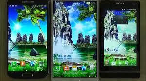 tropical 3d waterfall live wallpaper