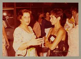 Phi Mu Digital History   Adele Williamson and Mary Herndon at Convention  Photograph, July 2-6, 1978