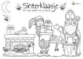 Kleurplaten Sinterklaas Jufbijtje Nl