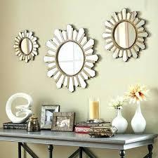 wall decor wonderful mirrors decorating