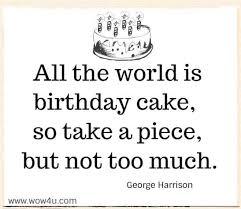 birthday quotes inspirational words of wisdom