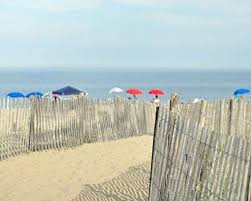 Amazon Com Coastal Photography Print Sand Dunes Beach Fence And Umbrellas Picture Large Wall Decor Aqua Ocean In The Distance Photo Print Beach Theme Photography Art 5x7 8x10 11x14 12x16 12x18 16x24 Handmade