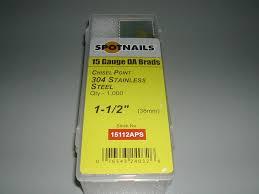 spotnails 15 gauge angled finish nails