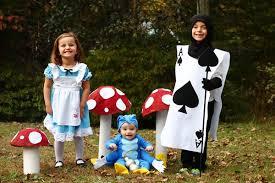 family alice in wonderland costumes