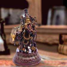 placing lord krishna statue