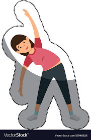 woman athlete practicing exercise
