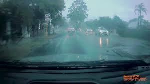 Tree Falls on Car in Perth, Australia ...
