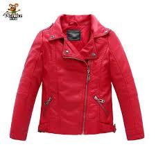 baby boys faux leather jacket kids