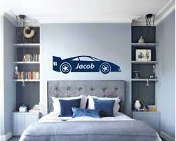 Race Car Wall Decal Boys Room Wall Stickers Whimsidecals
