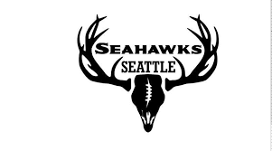 Deer Hunting Antler Truck Car Window Decal Sticker Seattle Seahawks Football Ebay Hunting Decal Deer Decal Seattle Seahawks Football