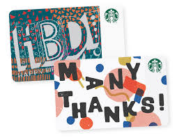 starbucks gift card perfect gifts for