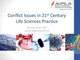 Conflict Issues in a 21st Century Life Sciences Practice (Ethics)