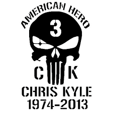 14 9cm American Hero Chris Kyle Car Sticker Decal Car Styling Motorcycle Accessories Black Silver C1 0132 Car Stickers Decals Car Stylingdecals Car Aliexpress